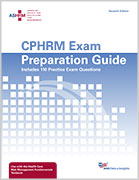 ASHRM CPHRM Exam Preparation Guide, 7th edition, Print Format